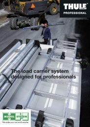 The load carrier system designed for professionals - Modul-System