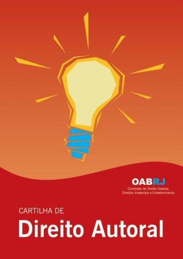 Cartilha de Direito Autoral - Oab-RJ