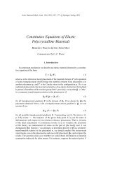 Constitutive Equations of Elastic Polycrystalline ... - ResearchGate