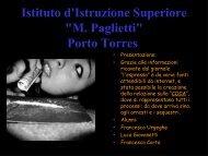 Presentazione - Istituto d'istruzione superiore M. Paglietti