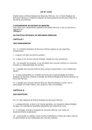 LEI Nº 3.870 Dispõe sobre a Política Estadual de Recursos ... - Faolex