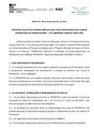 Edital para professor.pdf - Instituto Federal Fluminense