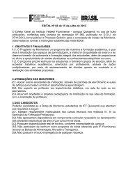 EDITAL MONITORIA.pdf - Instituto Federal Fluminense