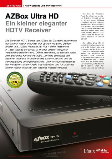 AZBox Ultra HD - OdosMedia