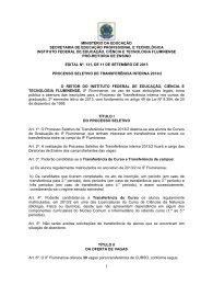 EDITAL nº 131/2013 - Portal do Instituto Federal Fluminense - Iff