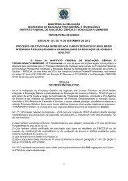EDITAL nº 127/2013 - Portal do Instituto Federal Fluminense - Iff