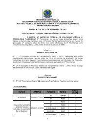 EDITAL nº130/2013 - Portal do Instituto Federal Fluminense
