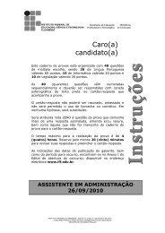 assistente em administração - Portal do Instituto Federal Fluminense