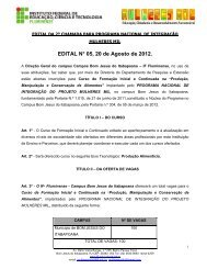 EDITAL MULHERES MIL AGOSTO DE 2012.pdf - Instituto Federal ...