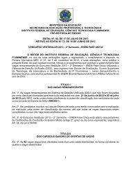 EDITAL 92 ADITIVO EDITAL 73 SiSU 2013.2.pdf - Instituto Federal ...