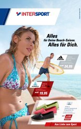Aktion Sommer Juli 2012 Prospekt - Intersport Sport Peter
