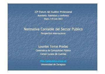 Normativa Contable del Sector Público