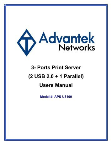3- Ports Print Server (2 USB 2.0 + 1 Parallel) - Wholesale Computer ...