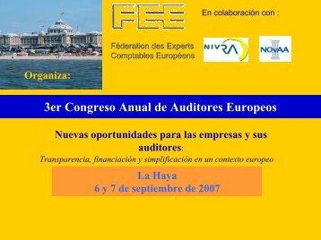 3er Congreso Anual de Auditores Europeos