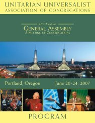 Complete Program of Events (PDF, 128 pages) - Unitarian ...