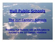 21st Century High School - Town of Hull