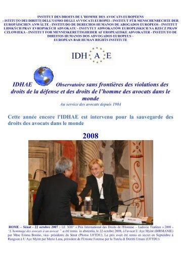 IDHAE Observatoire sans frontières des violations des droits de la ...