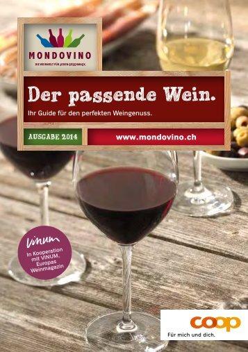 Der passende Wein.