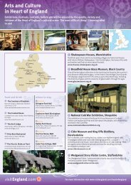 Arts and Culture in Heart of England - VisitEngland