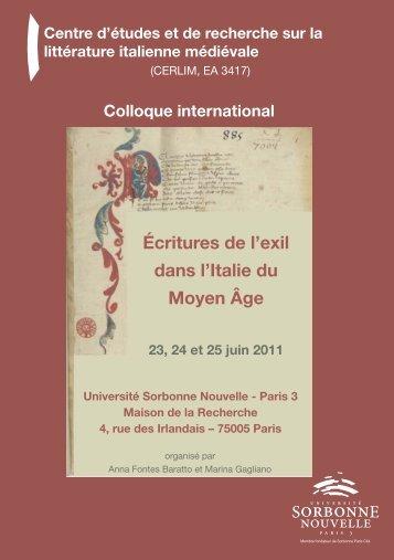 Programme [PDF - 85 Ko ] - Université Sorbonne Nouvelle