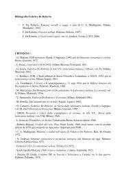Bibliografia De Roberto - Sies