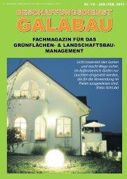 management - Beschaffungsdienst GaLaBau