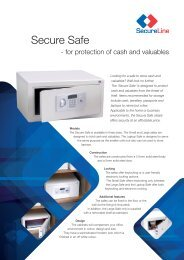 Locks, Safes and Security (LSS+ Version 5 0)