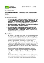 5_BÜNDNIS 90 Bremen_Beschluss.pdf - Ortsamt Borgfeld