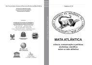Caderno nº 15 - Reserva da Biosfera da Mata Atlântica