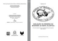 Caderno da RBMA nº06 - Reserva da Biosfera da Mata Atlântica
