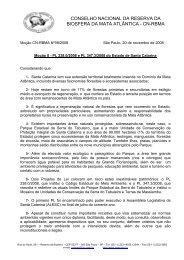 conselho nacional da reserva da biosfera da mata atlântica - cn-rbma