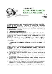 Noticias RBMA 08 (Junho/2000) - Reserva da Biosfera da Mata ...