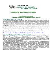 Noticias RBMA 33 (Julho/2003) - Reserva da Biosfera da Mata ...