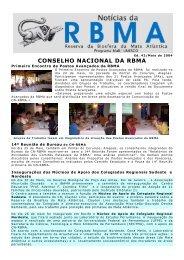 Noticias RBMA 42 (Maio/2004) - Reserva da Biosfera da Mata ...