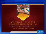 Center for Global Health - Library