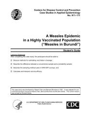 A Measles Epidemic in a Highly Vaccinated Population ... - Library