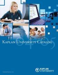 Calendar Year 2004 – 2005 - Kaplan University   KU Campus
