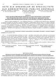 Monitorul Oficial Partea I - Ministerul Economiei