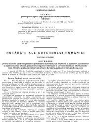 HG 1016/2004 - Ministerul Economiei