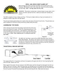 OR20 Snap Weight System Instruc pdf - Off Shore Tackle