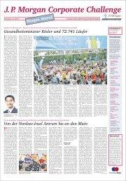 J.P. Morgan Corporate Challenge - Frankfurter Neue Presse
