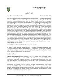 ACTA N.º 18 - Câmara municipal de Aveiro