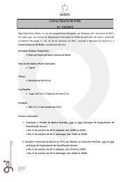 Licença de Ruido 122 - Festa em honra St.Antonio Mudo_Paróquia ...