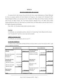 Ata n.º 6 de 15 de março de 2012 - Câmara municipal de Aveiro