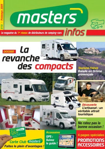 Les compacts - Masters France