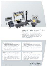 Factsheet Manual.Cash Freemotion - Skidata