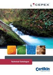 Technical Catalogue - Certikin