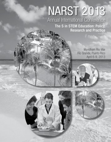 narst 2013 - National Association for Research in Science Teaching ...