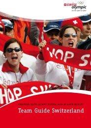 Team Guide Switzerland - Swiss Olympic