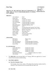 Apr - London City Airport Consultative Committee